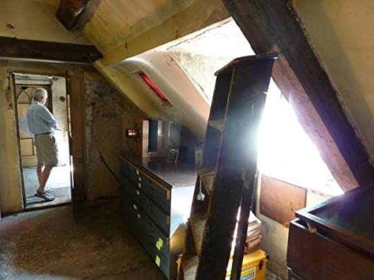 The attic rooms in Bromley House today.