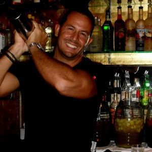 Hot bartender: