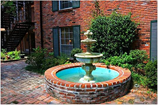 Courtyard fountain: