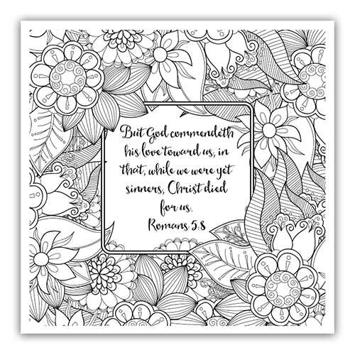 adult religious coloring pages | Darlene Schacht's Blog - Romans Bible Study – Week 2 ...