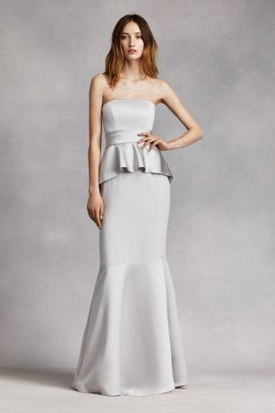 Camilla isley 39 s blog ten random things about me for White peplum wedding dress