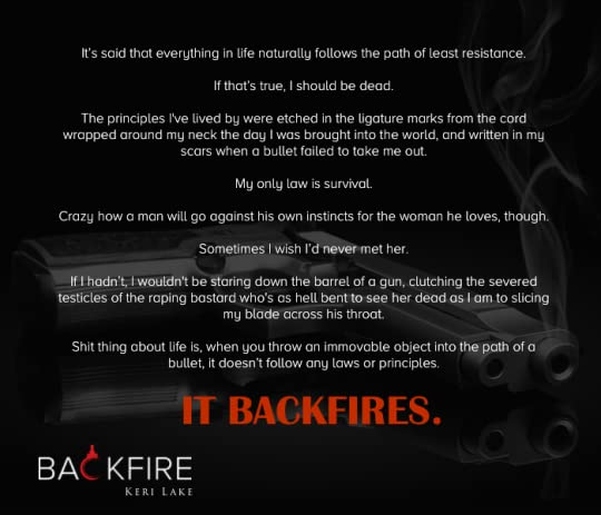 Backfire (Vigilantes, #2) by Keri Lake
