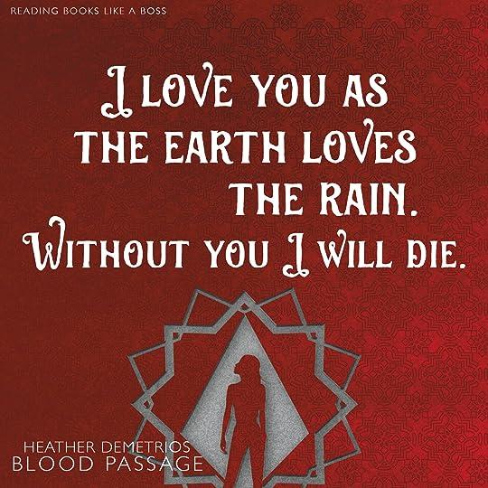 Blood Passage by Heather Demetrios