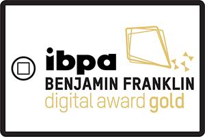 Benjamin Franklin Digital Award GOLD HONOREE logo.