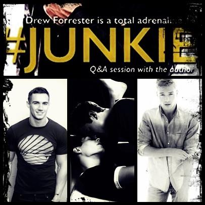 Junkie to straight guys love juice