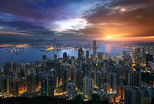 Sunrise At Victoria Peak - Hong Kong photo Moden Day Hong Kong_zpsjutdo0pd.jpg