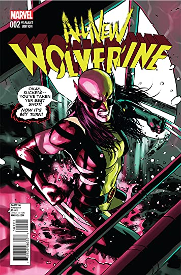 Gianfranco Mancini's review of All-New Wolverine, Volume 1: The Four