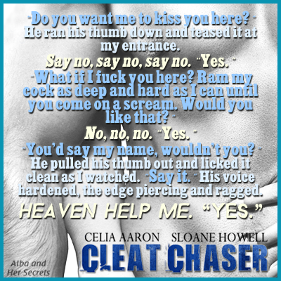 83f36b01 Cleat Chaser (The Cleat Chaser Duet, #1) by Celia Aaron