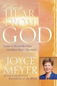 how to hear from God by Joyce Myers Book Review