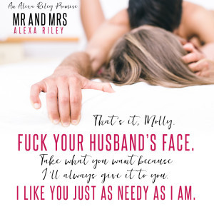 Mr and Mrs (Alexa Riley Promises, #1) by Alexa Riley