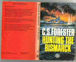 Cover of <i>Hunting the Bismarck</i> by C.S.Forester.