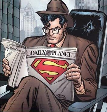Superman kön karikatyrerna