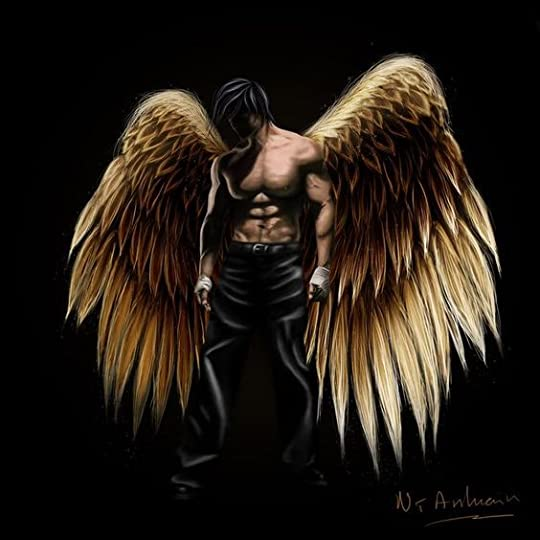 winged man: