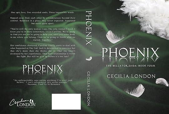 34a69e00e Phoenix (Bellator Saga, #4) by Cecilia London