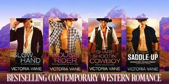 Hot Cowboy Nights series Victoria Vane: