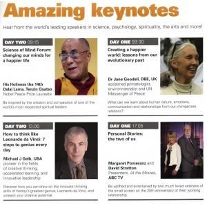 Amazing Keynotes - Michael Gelb & the Dalai Lama