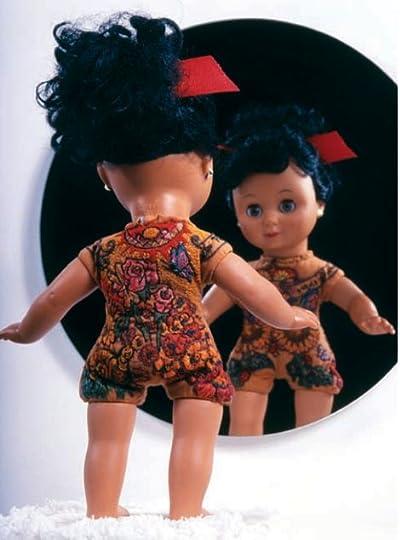 One of Sherri Lynn Wood's embroidery-tattooed baby dolls