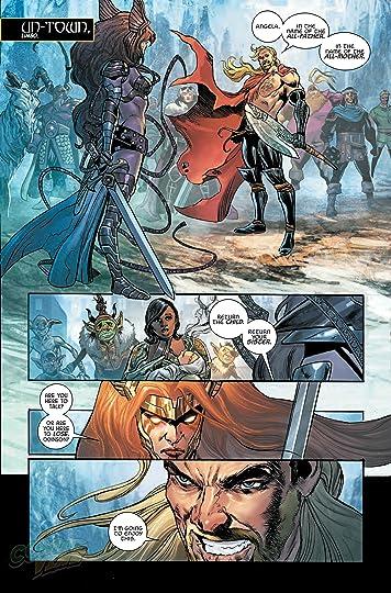 Asgard/'s Assassin #3A Comic Book Marvel Angela