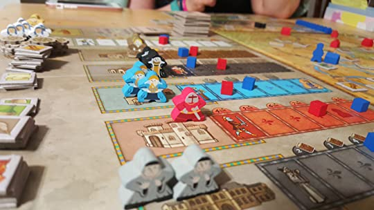 Orleans with meeples