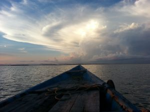 Rowboat and Sky