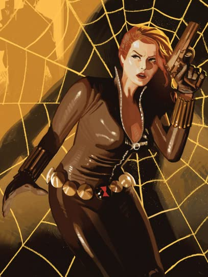 Black Widow The Name Of The Rose By Marjorie M Liu