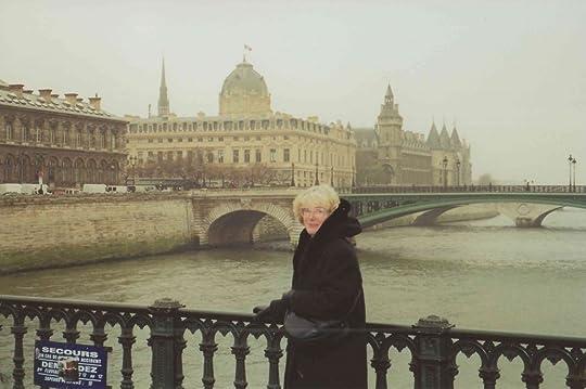 Laurel beside the Seine River in Paris