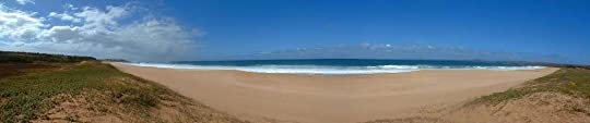 Hawaii beach photo: Papohaku beach, Molokai, Hawaii PapohakuBeachandDune180PanoramaMolokaiHawaiiMauiCountyPhotobyPatMcNally.jpg