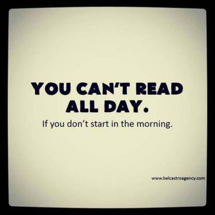 you cant read all day