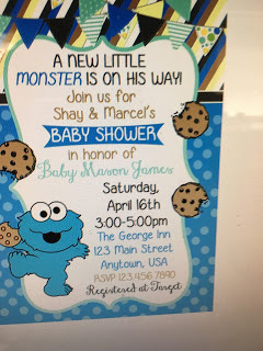 Marvelous Julie Coulter Bellonu0027s Blog   How I Did A Cookie Monster Baby Shower   May  24, 2016 22:22