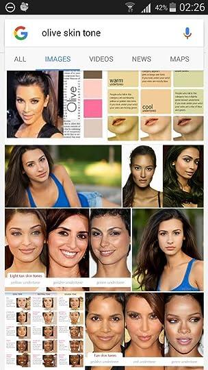google image results for 'olive skin tone'