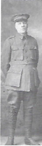 Francois Tonetti in uniform