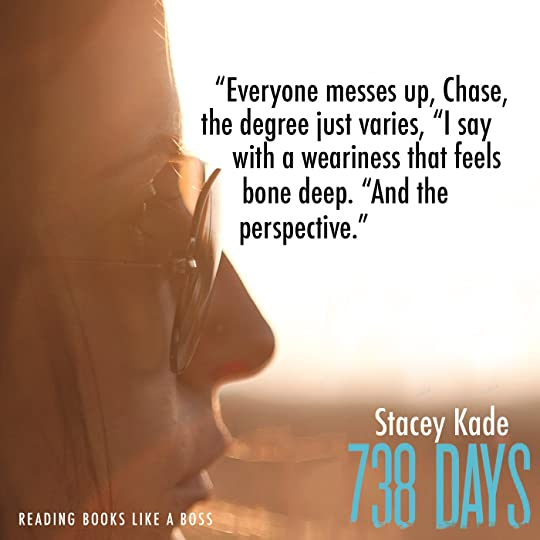 Review - 738 Days by Stacey Kade