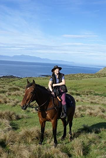 Jesterdale and Me on our Down, Across & Up Ride