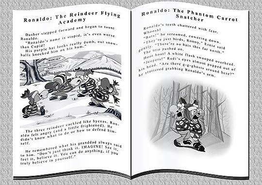 Ronaldo the Flying Reindeer book excerpts