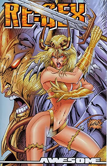 Liefeld's Disastrous Cover... One of them, anyway.