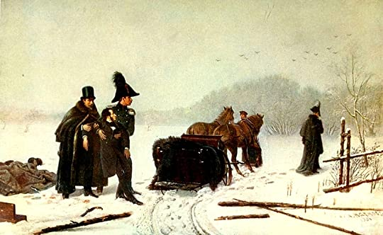 The End of the Duel Resulting in Pushkin's Death