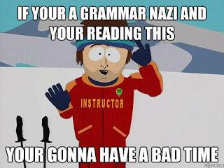 Matthew R Bells Blog Are You A Grammar Nazi June 23 2016 0721