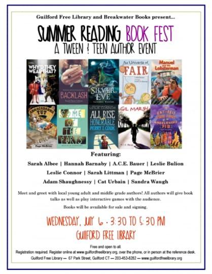 July 6th Author Fest 2016