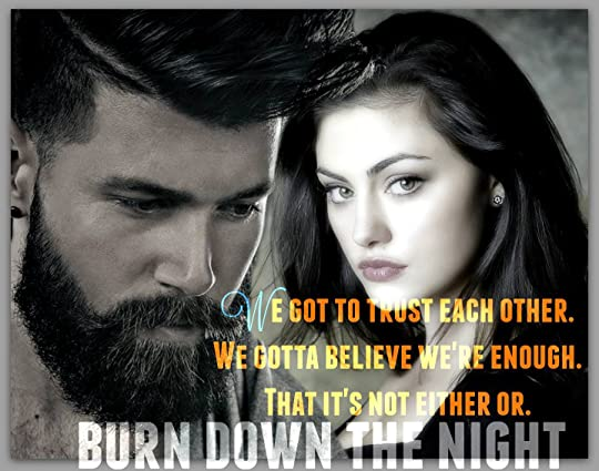 Burn Down the Night (Everything I Left Unsaid, #3) by Molly O'Keefe