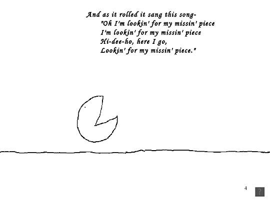 The missing piece by shel silverstein esta historia yo la recomendaria solo si ya leste o finalizando la aqu presente leeras the missing piece meets the big o ccuart Images