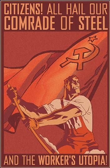Behold! The Marxist-Socialist Man of Tomorrow!