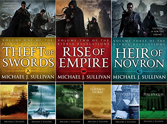 The Riyria Revelations Series