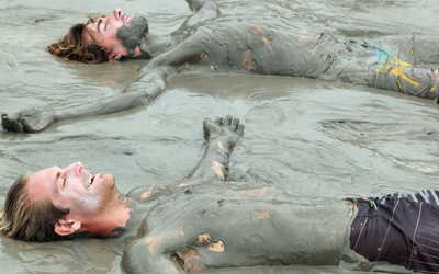 Two Wallowing in Mud