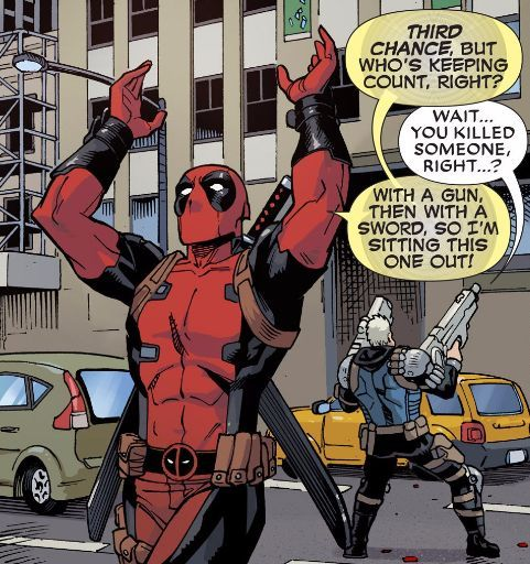 cable and deadpool relationship meme
