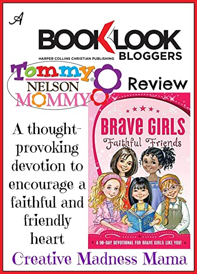 Creative Madness Mama loves Brave Girl Bible Devotionals!
