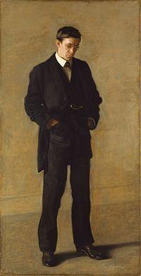 Thomas Eakins - The Thinker, Portrait of Louis N. Kenton.jpg