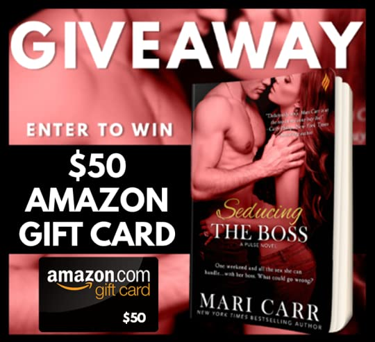 Seducing the Boss Giveaway Graphic