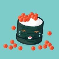 cute crying sushi