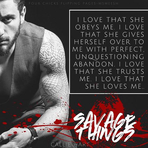 #SavageThings