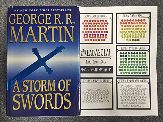 A Storm of Swords by George R R  Martin